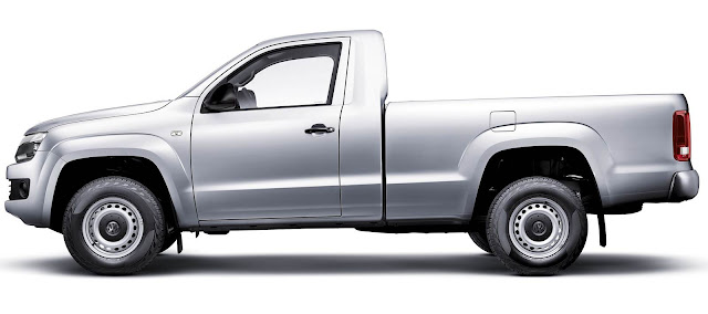 Pick-up Amarok Cabine Simples - lateral 2014