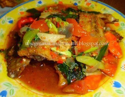 Resep Masakan Tulang Ikan Asin Jambal Kuah Pedas