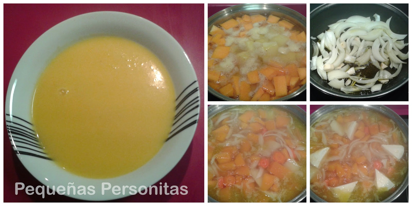 receta, crema de verduras, crema, peques, niños