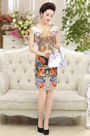 New 2016 3-Color Elegant Vintage OL Dress