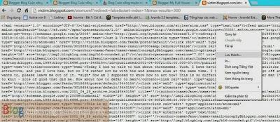 Cách lấy toàn bộ dữ liệu của một trang blogspot