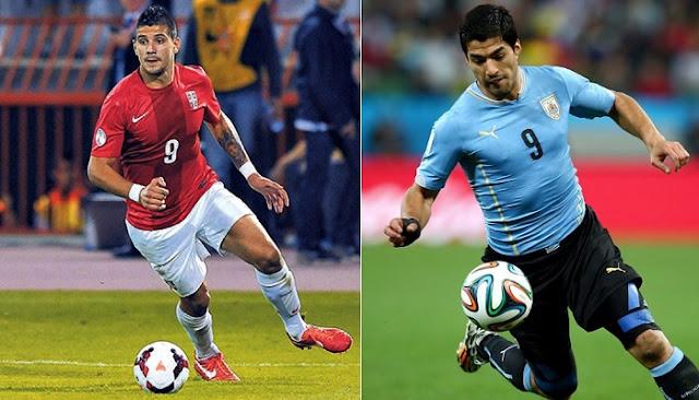 Uruguay vs Serbia en vivo