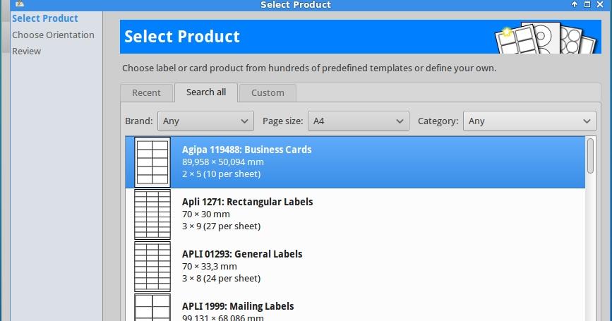 Como instalar glabels 320 no linux mint ubuntu e derivados reheart Image collections