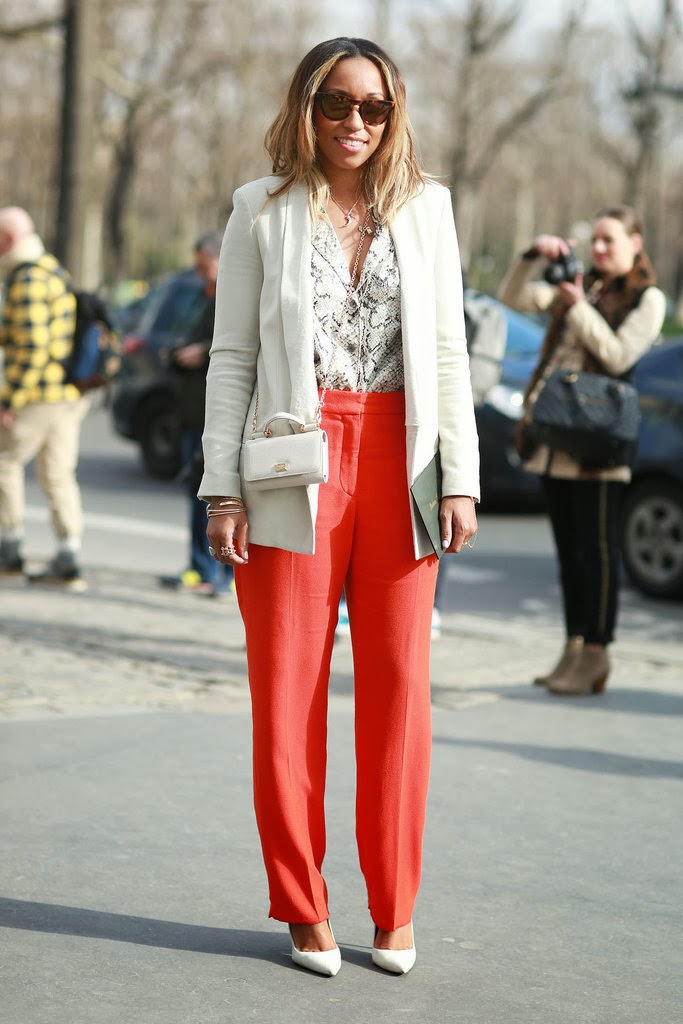 Chic and Silk: FASHION WEEK: The Best Street Style from ...