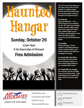 Come to the Haunted Hangar at Air Associates of MO!