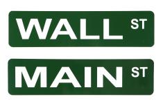 MAIN Street WALL Street PENN Ave
