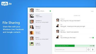 Windows 8 Messaging App for Facebook Chat, Gtalk, Windows Live