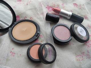 sarahgcosmetics, cosmetics, makeup, review, lipstick, whispersfromangels, blogger, foundation, powder, blusher, eyeshadow, brand, pink, peach, black
