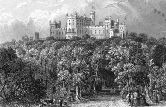 Belvoir Castle from The History of Belvoir Castle by Rev I Eller (1841)