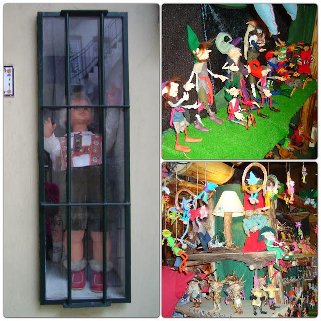 bonecos - loja no bairro de San Telmo - Buenos Aires