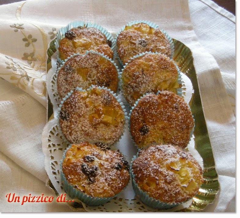 Muffins alle pere