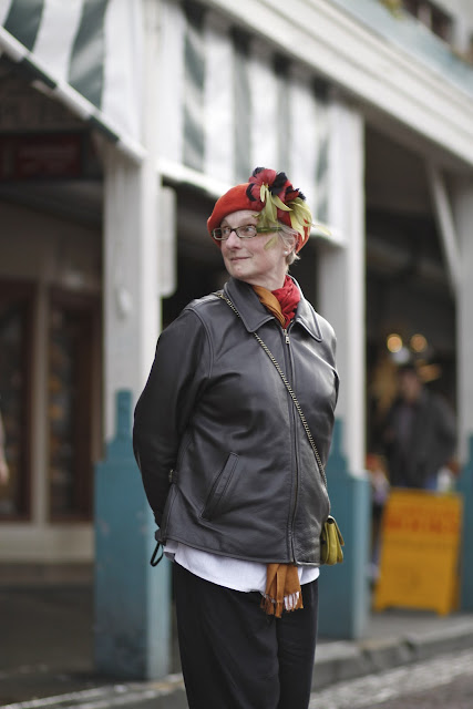 Beth Lowry Pike Place Market Seattle Street Style Fashion Millinery Baby & Co.