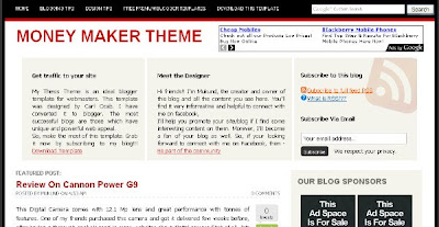 Money Maker - Ads Ready Blogger Template