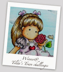 "Winner ""Tilda's Town Challenge Blog"" #106"