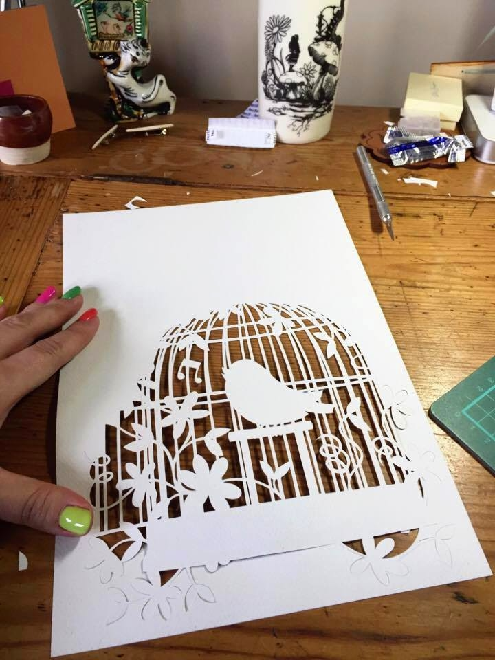 Paper panda exciting happenings at pp hq ive been working on a birdcage template for a supplement magazine of templates with my name on them for craftseller my list includes all kinds from card maxwellsz