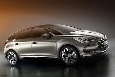 Right side 2012 citroen ds5 hibryd.