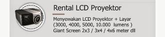 Rental LCD proyektor