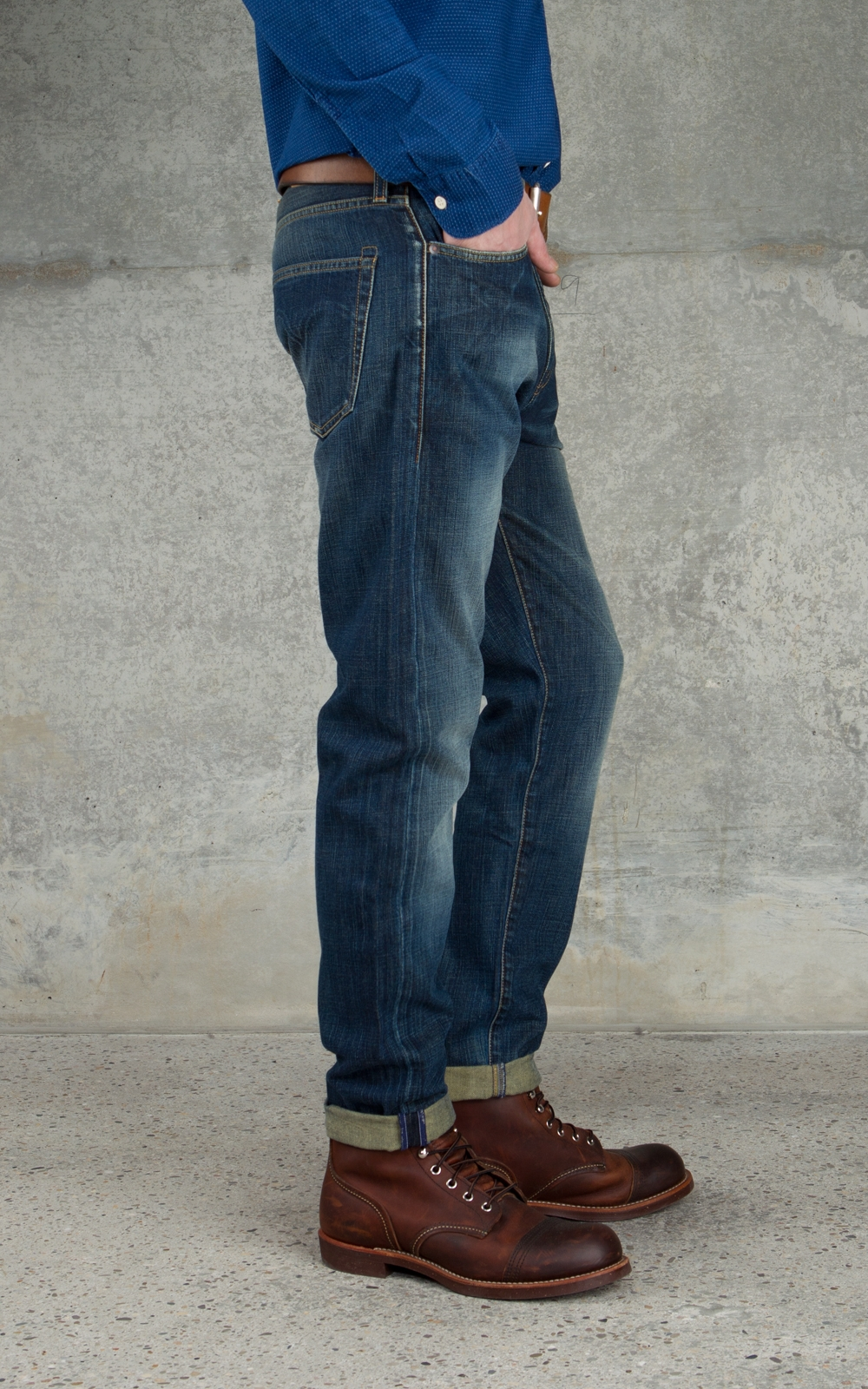 Cari jeans levi 39 s made crafted shuttle jeans second wave for Made and crafted shuttle
