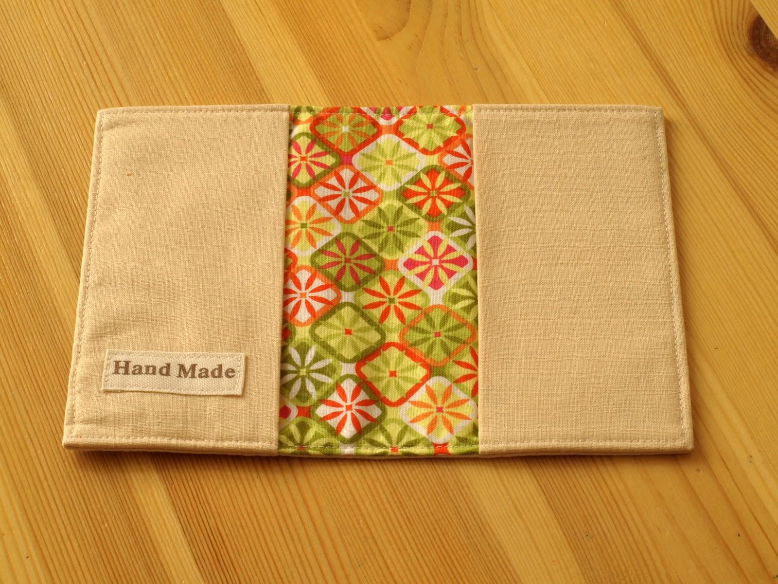 Обложка своими руками ткань