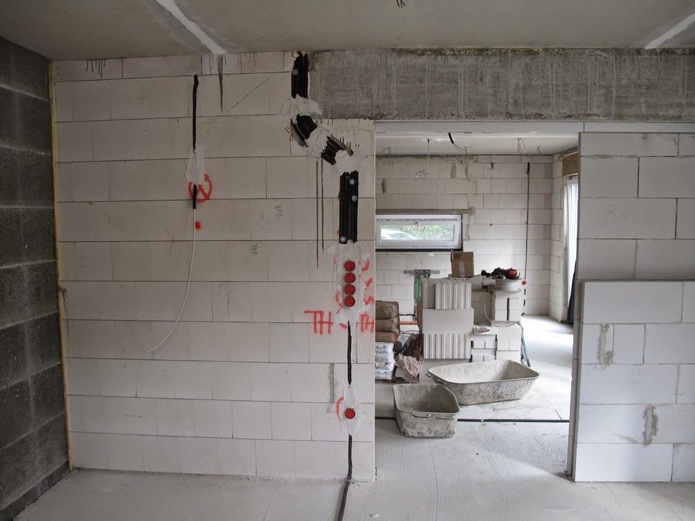 hausbau mit der firma kmh august 2014. Black Bedroom Furniture Sets. Home Design Ideas