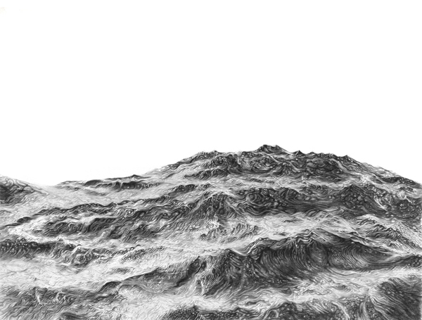 Artist Sophie Bray's Oceanic Swell Displays Her Amazing Pencil Illustration