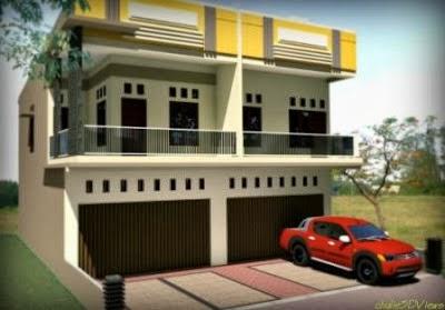 Model Desain Ruko Indah Terbaru | Gambar Desain Rumah Minimalis