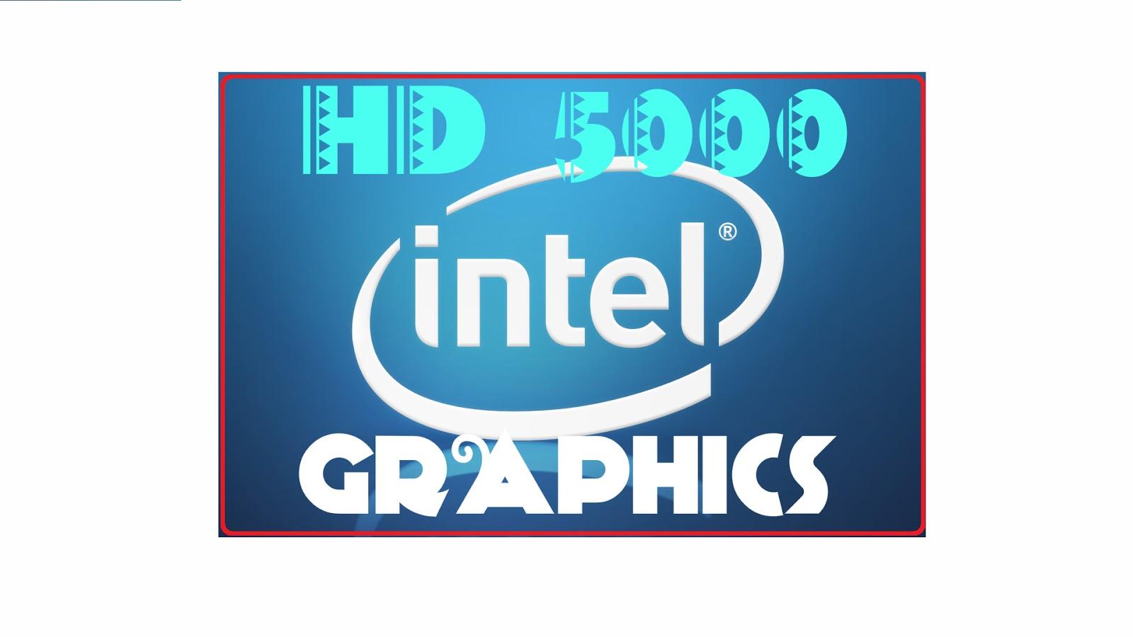 Intel hd 3000 hd driver