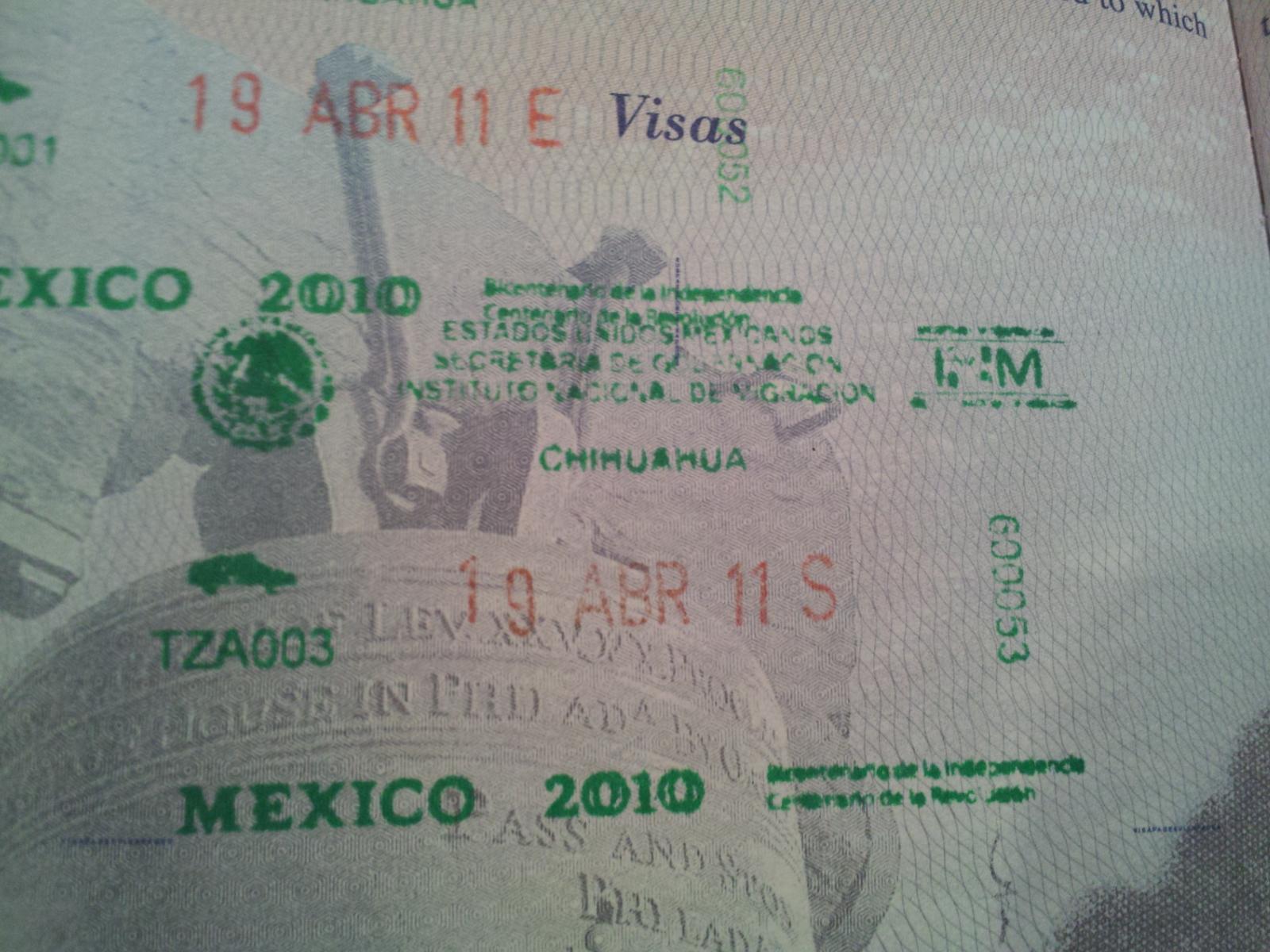 Mexico city international airport no exit passport stamp mexico mexico city international airport no exit passport stamp mexico city forum tripadvisor sciox Gallery