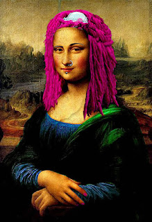 punk mona lisa