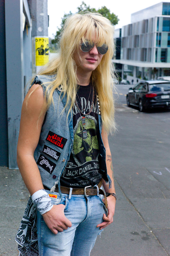 Nz Street Style Fashion Blog Wallace Chapman Back To The Rock N Roll Future