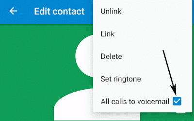 All calls to voicemail in Android Marshmallow