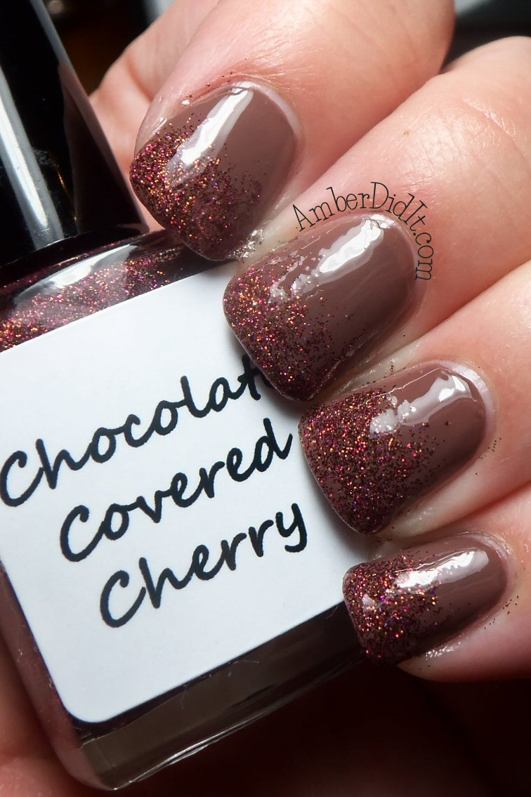 Amber did it bad ass polishchocolate covered cherryswatch and you can grab your very own badass polish on etsy for 1175 plus shipping prinsesfo Images