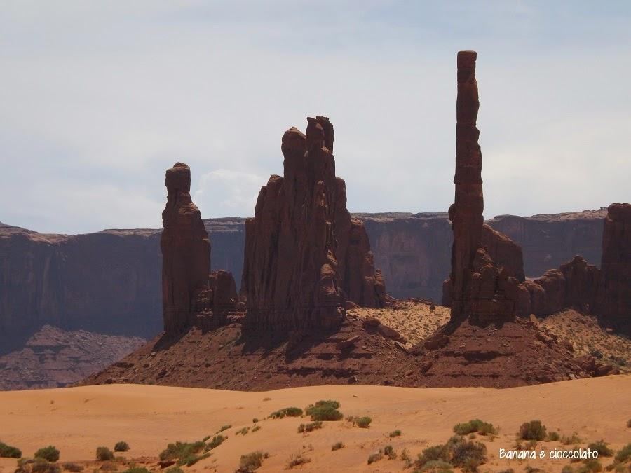 monument valley, silvia diemmi, banana e cioccolato