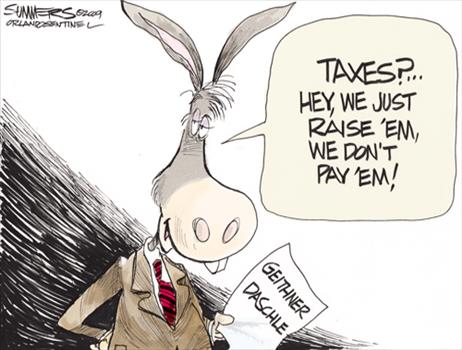 Democrats don t pay taxes