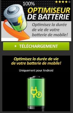 Télécharger l'Optimiseur de batterie!