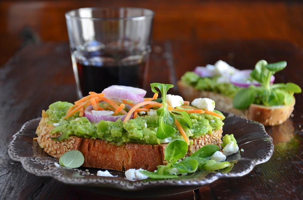 sandwich day : sandwich veggie con un pizzico di gloria  ~