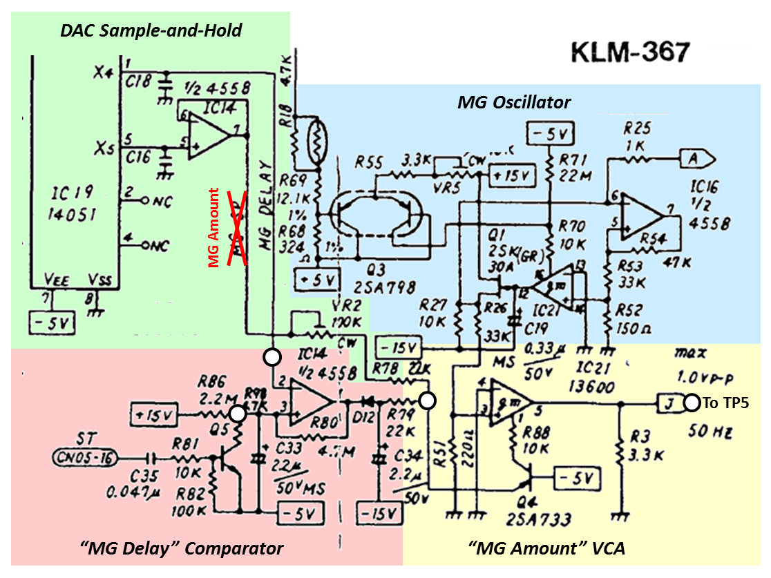 Synth Hacker 2013 C61 Wiring Diagram My Goal Is To Find Spots Where I Could Modify The Circuit Make It Perform Way That Want