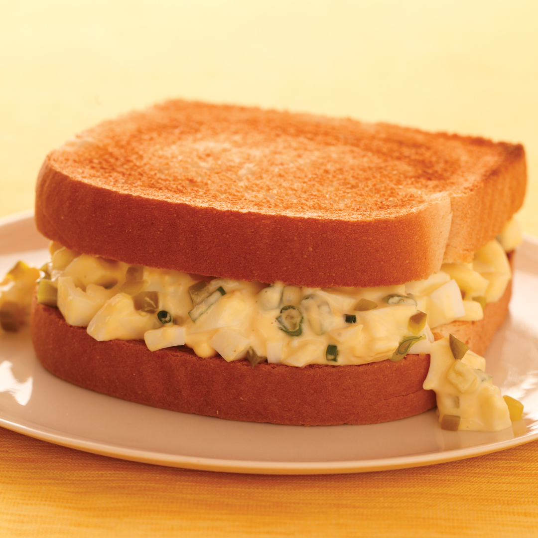 ... leftovers make an egg salad sandwich actually make several egg salad