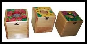 Tempat Tissu Kotak Kubus