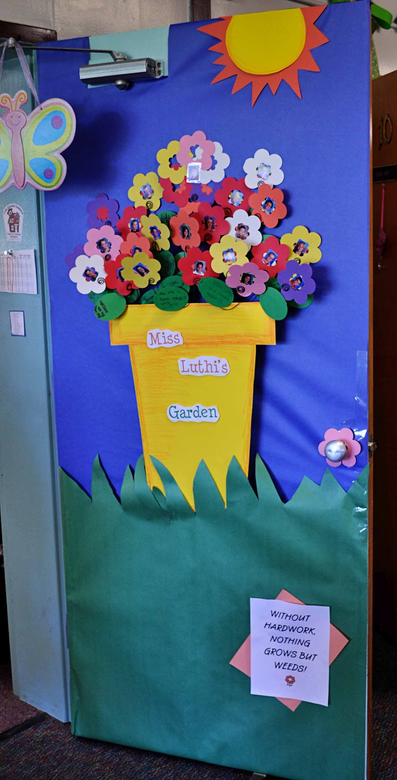 Preschool Classroom Door Decoration Ideas ~ Children s learning activities teacher appreciation week