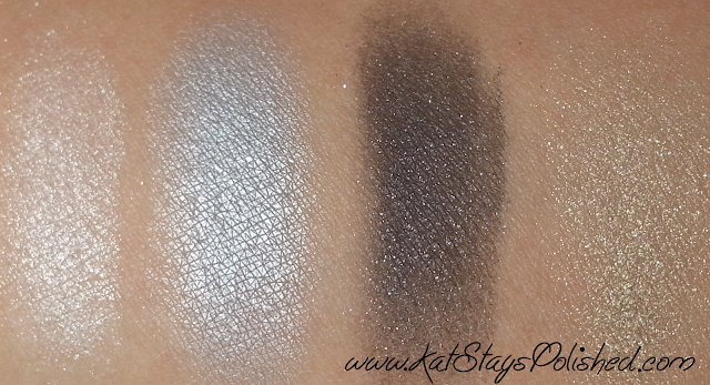 Studio Gear Holiday Smokey Eye Palette swatches