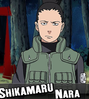 8 Shikamaru 10 of the Most Favorite Naruto Anime Characters