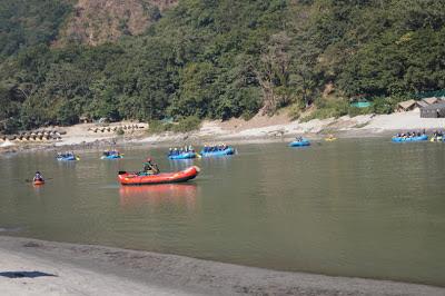 Rishikesh river rafting, Rishikesh India