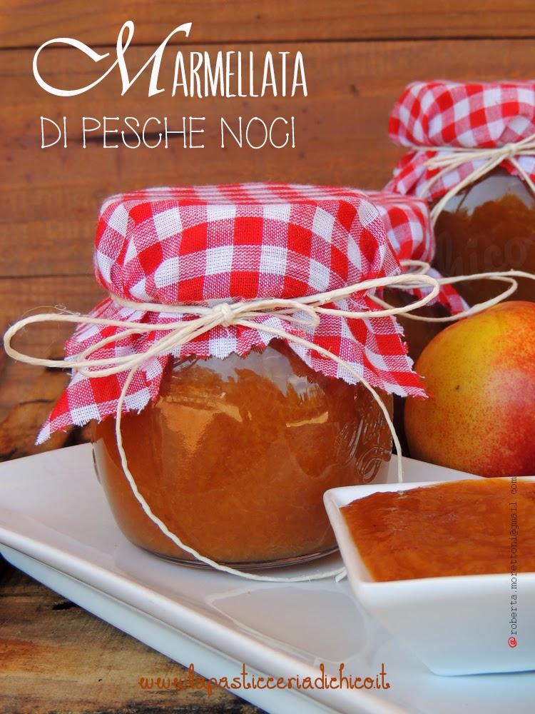 Marmellata di pesche noci - www.lapasticceriadichico.it
