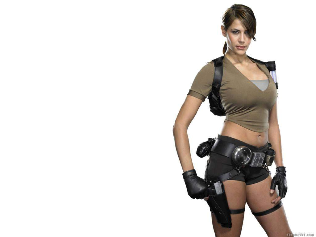 The true Karima adebibe tomb raider