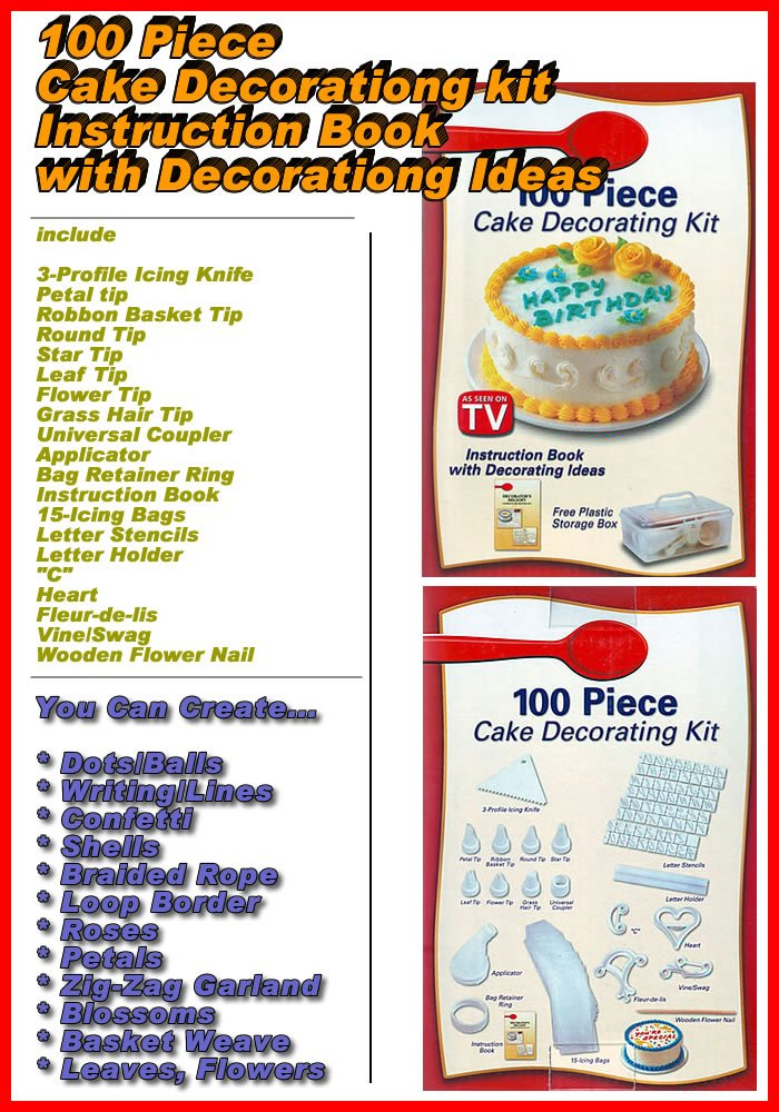 Jual Cake Decorating Kit : Bruneians Jual