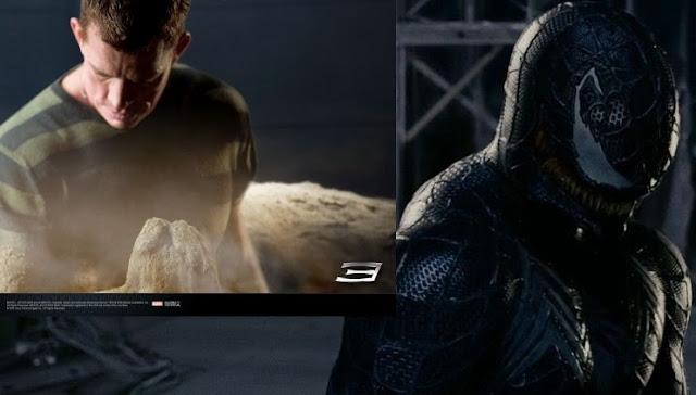 Sandy Thomas Hayden Church  and befanged black Spidey  Got it Venom Spiderman 3 Drawings