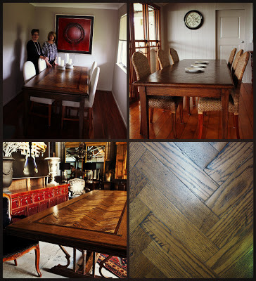 Parquetry Dining Tables Brisbane Fortitude Valley