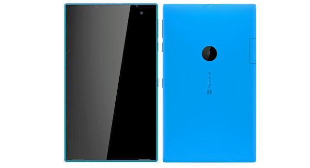 Microsoft/Nokia Mercury Tablet Render Leaks (2016)