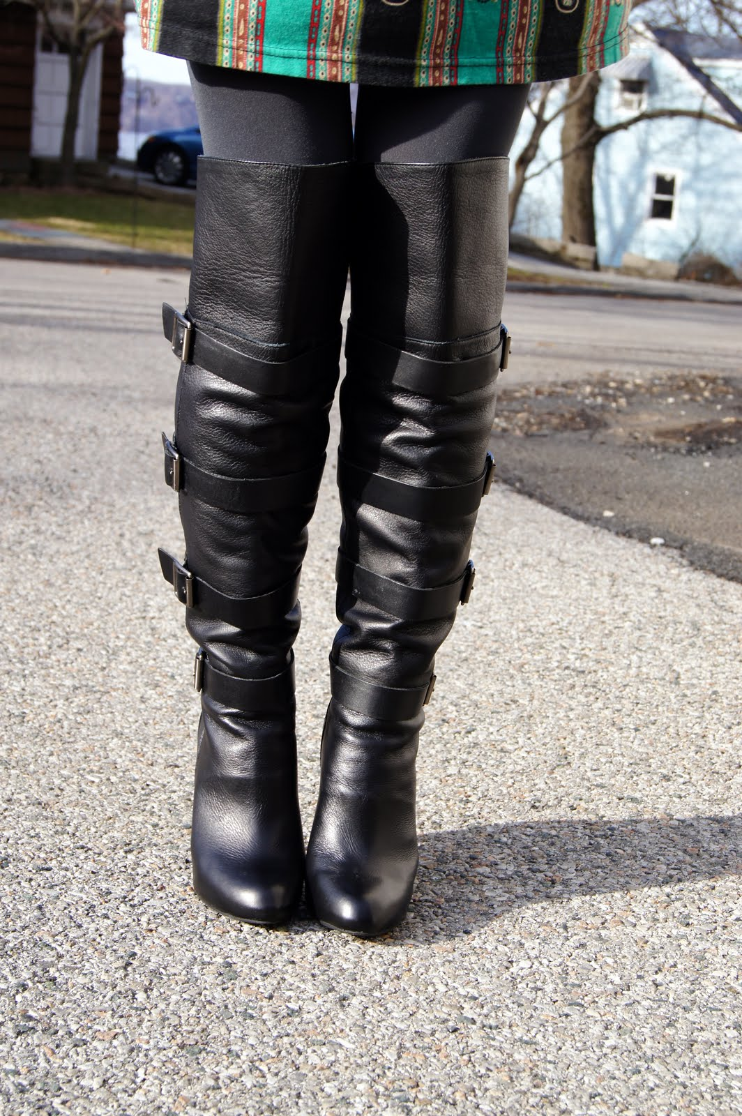 Cinderella\'s Closet: Would You Wear Over the Knee Boots?